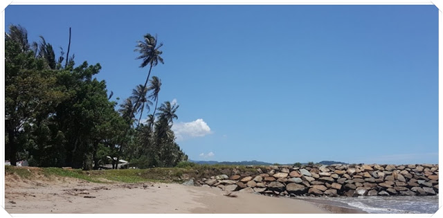 Objek wisata Pantai Salido Pessel Sumatera Barat