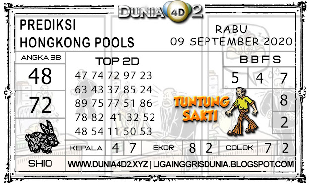 Prediksi Togel HONGKONG DUNIA4D2 08 SEPTEMBER 2020