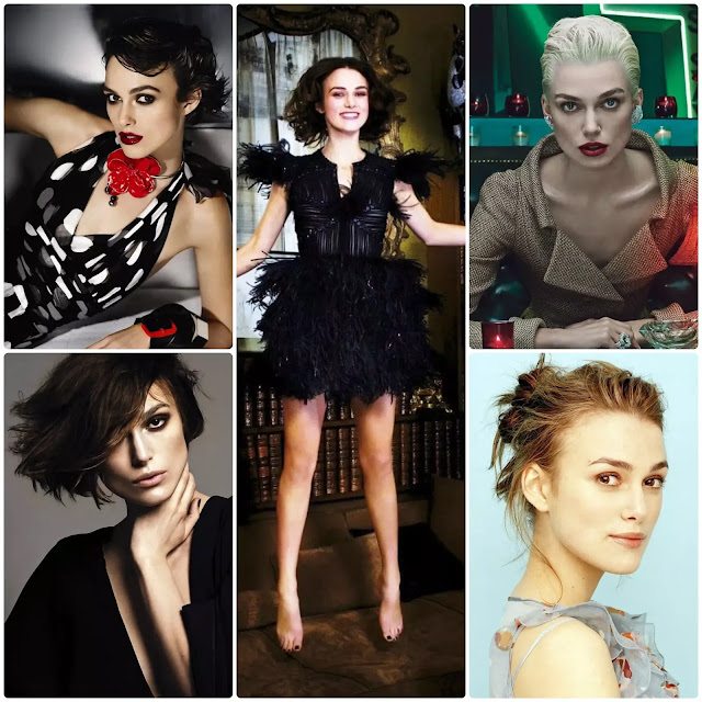 Keira Knightley Short Hairstyles