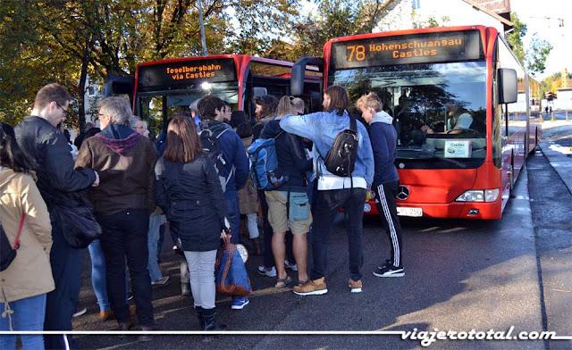 Autobús 78 - Castillo de Neuschwanstein