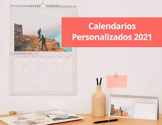 Calendarios personalizados a mitad de precio