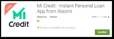 Mi Credit No paper work loan