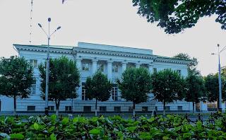 Полтава. Ул. Соборности, 38. Бывший дом гражданского губернатора.1806-1811 г.г.