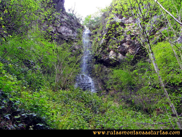 Ruta del Alba: Caída de agua