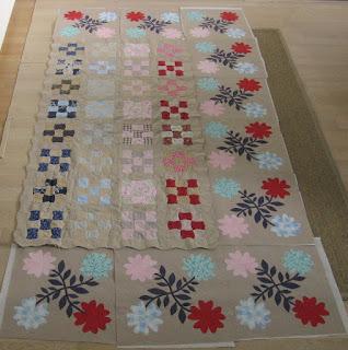 Klokhuisjes quilt