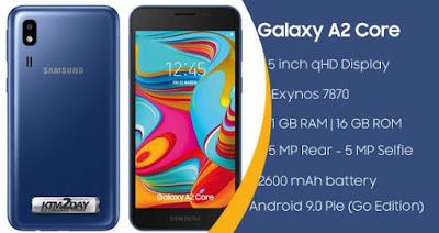 Spesifikasi Baterai Samsung Galaxy A2 Core