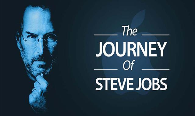 The Journey of Steve Jobs #infographic