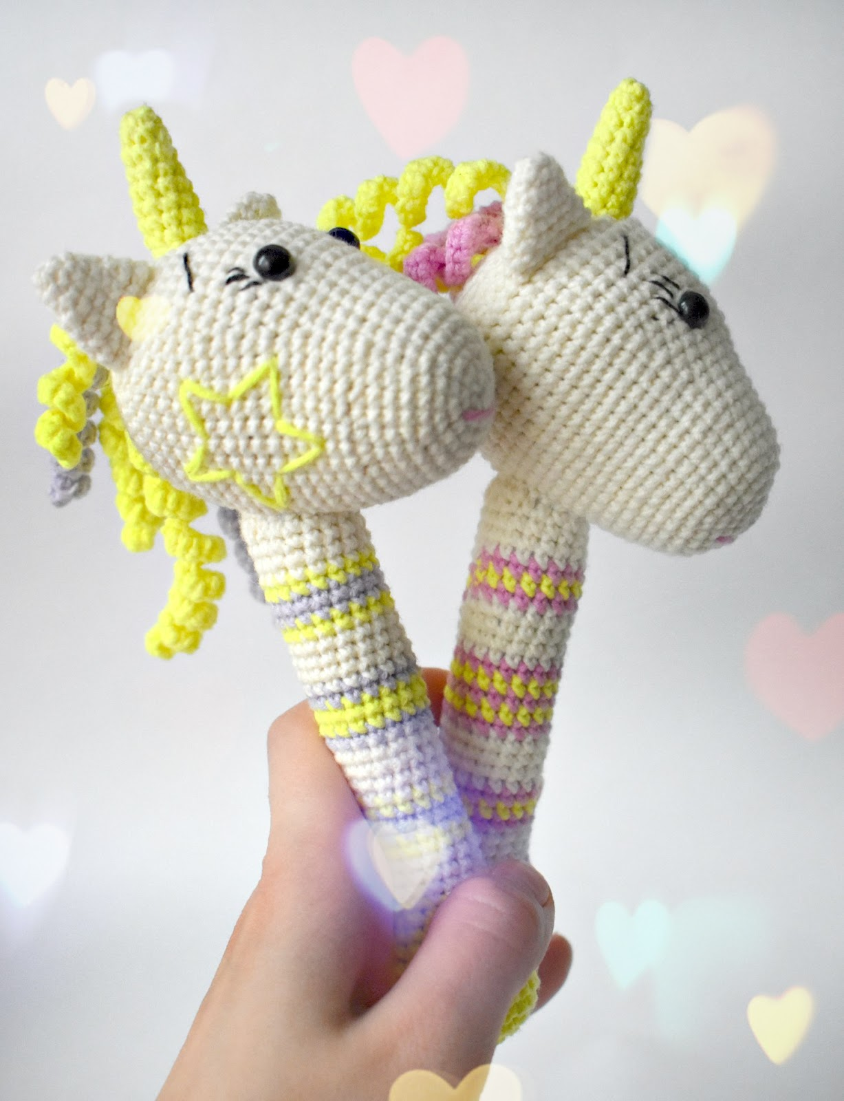 Amigurumi Rattle Pattern : Amigurumi Unicorn Rattle-Free Pattern - Amigurumi Free ...