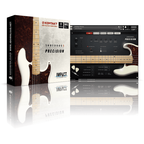 Shreddage 3 Precision KONTAKT Library
