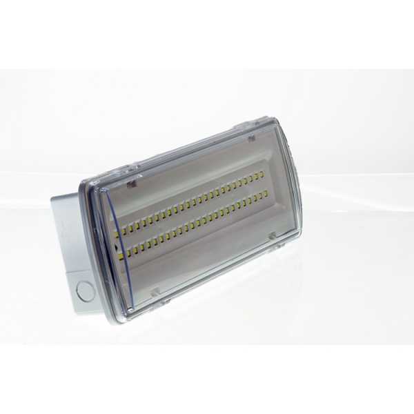 LAMPADA EMERGENZA LED SIMILE BEGHELLI 50 LED 4W INCASSO 3 ORE AUTONOMIA 406 L...