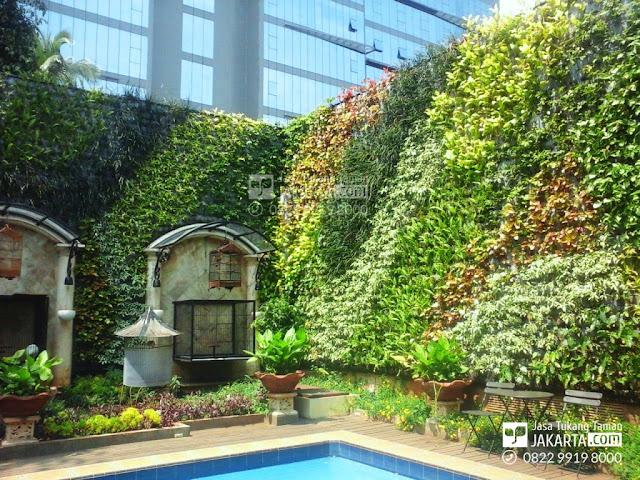 konsep taman vertikal garden