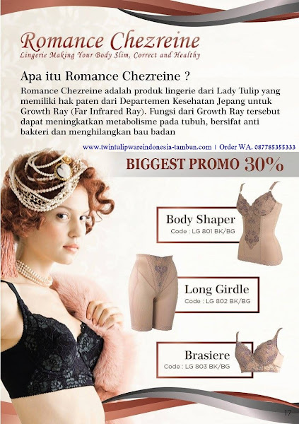 Biggest Promo : Body Shaper, Long Girdle, Brasiere, Romance Chezreine