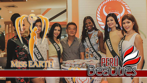 Miss Earth 2017 | Group 2 at Yoshinoya