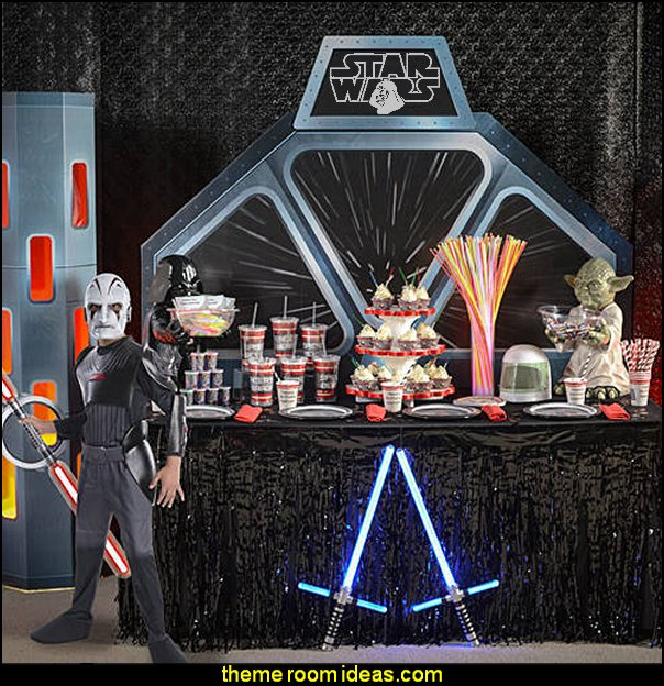 star wars party decorations  - Star Wars party decor Star Wars party decorations  - Star Wars party decor - star wars party decorating - Star Wars party supplies -  Star Wars party props - star wars life size standees - star wars costumes - outer space party decorations - star wars props - galaxy table decorating props
