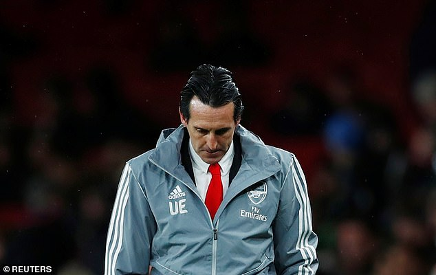 Emery 'to be sacked' TODAY as Arsenal senior club officials meet