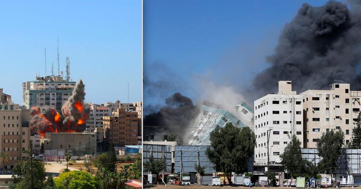 Israeli Bombings Destroy More Than A Dozen Media Outlets In Gaza