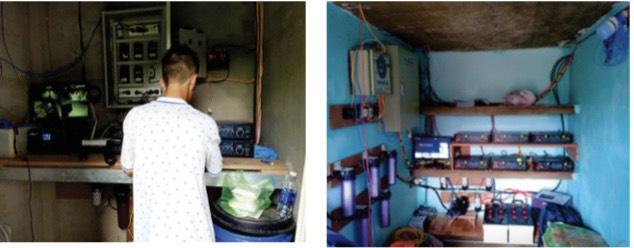 Quy trình lắp đặt các phòng kỹ thuật nhà nuôi yến Tầm Cao Việt