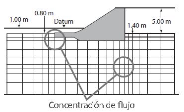 Mallado de Simulación - Concentración de Flujo