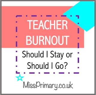 teacher burnout leave job