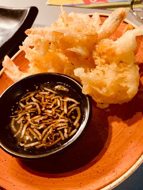Tampopo Prawn tempura