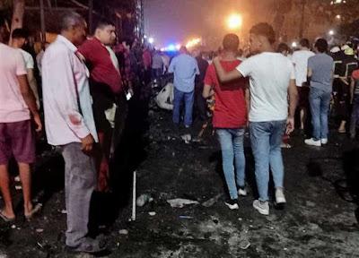 """انفجار """"معهد الأورام"""" مصرع 5 وإصابة 15 آخرين.. الداخلية تكشف تفاصيل الانفجار"""