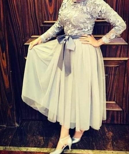 فستان محجبات رقيق