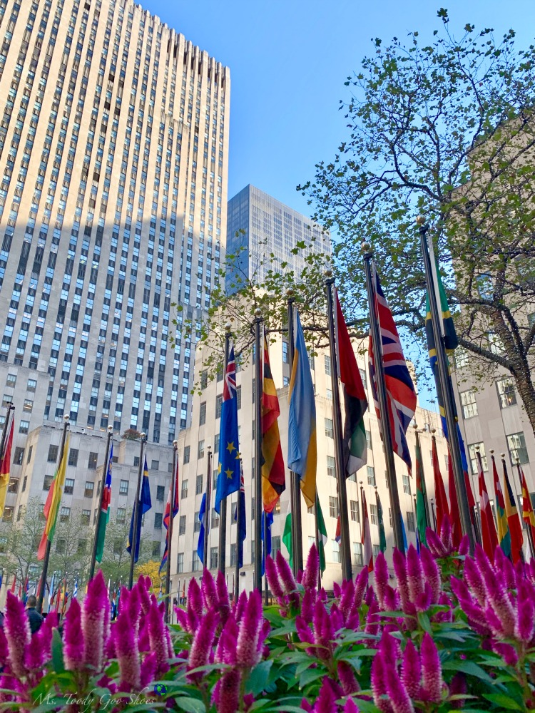 Rockefeller Center, NYC | Ms. Toody Goo Shoes