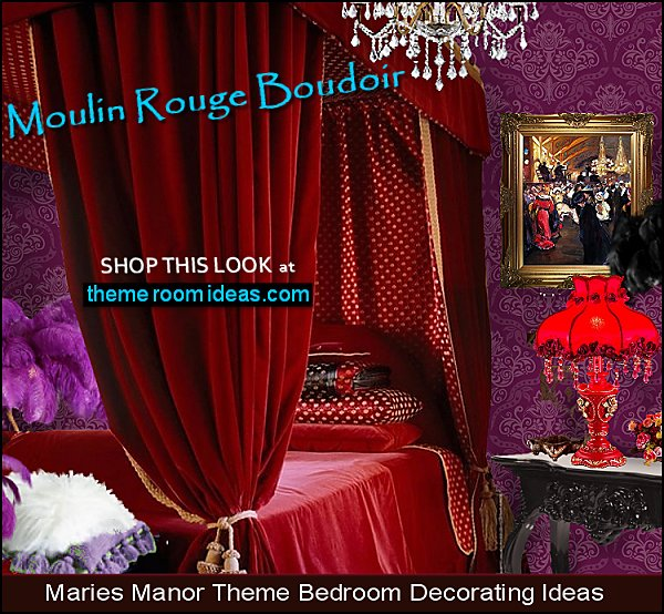 moulin rouge style decorating ideas moulin rouge boudoir theme moulin rouge bedrooms