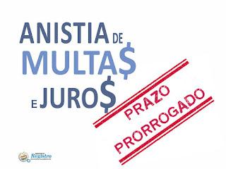 Prefeitura de Registro-SP prorroga prazo da Anistia Fiscal de juros e multas