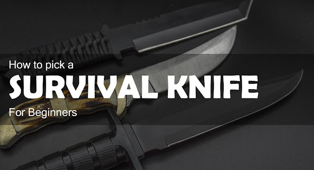 How to Pick a Survival Knife For Beginners