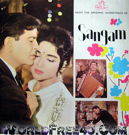 Cover Of Sangam (1964) Hindi Movie Mp3 Songs Free Download Listen Online At worldfree4u.com