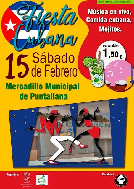Fiesta Cubana - Mercadillo Municipal de Puntallana