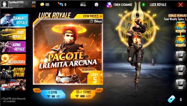 Bocoran Bundle Diamond Royale Terbaru Mystic Seeker Versi Cewe