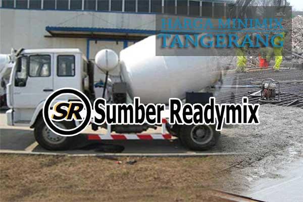 Harga Beton Minimix Tangerang 2019