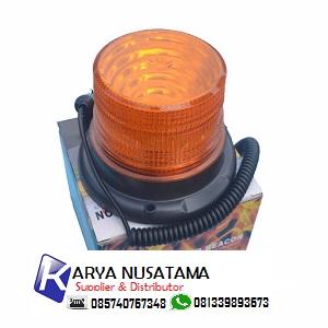 Jual Lampu Kedip LED 5 Inch 220V Amber di Surakarta