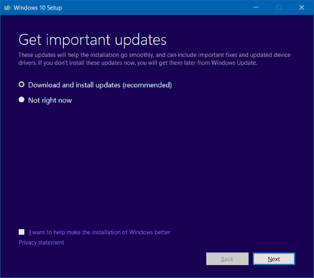 Install windows 10 Tanpa Menghapus Data