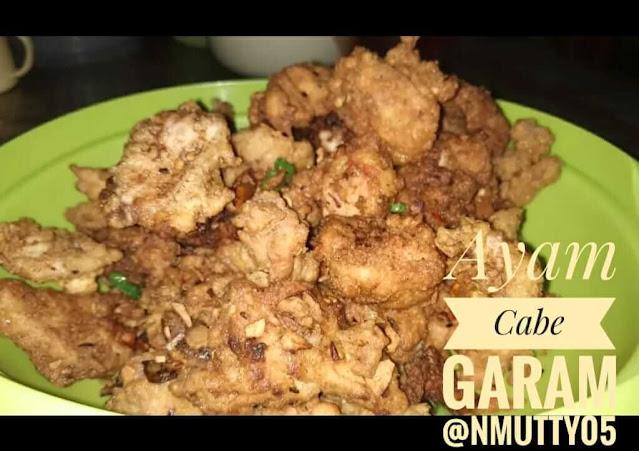 Ayam Crispy Cabe Garam - NMUTTY.com