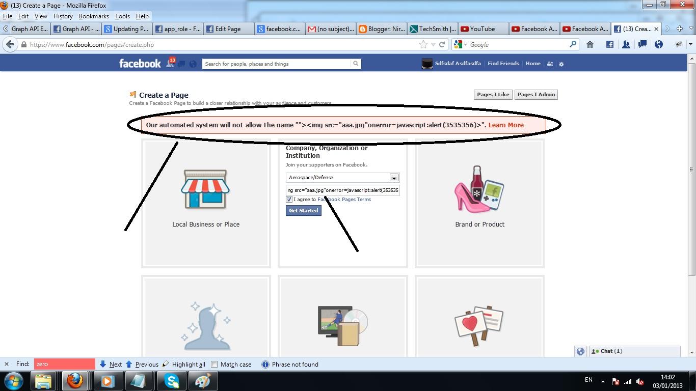 Another Stored XSS in Facebook com | Nir Goldshlager Web