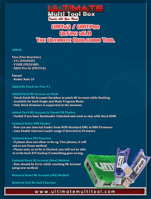 UMTv2 / UMTPro QcFire v6.8 Free Download - Happy Eid Update