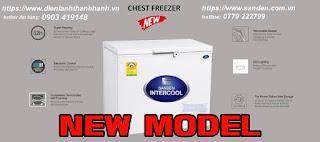 tủ đông sanden intercool inverter