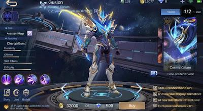 Kata-Kata Gusion Mobile Legends dan Artinya