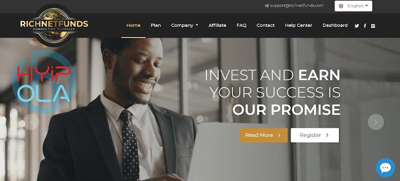 [SCAM] Richnetfund Review - Dự án MLM đến từ đội ngũ uy tín, lãi từ 2% hằng ngày