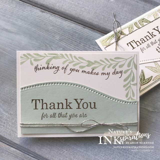 By Angie McKenzie for The Joy of Sets Blog Hop; Click READ or VISIT to go to my blog for details! Featuring the Quite Curvy Bundle with the Best Year, Curvy Christmas and Beautiful Autumn stamp sets to make a set of thank you cards; #handmadecards #naturesinkspirations #joyofsetsbloghop #thankyoucards #stampinup #quitecurvybundle #curvychristmasstampset #bestyearstampset #beautifulautumnstampset #curvydies #notecardsandenvelopes #cardtechniques #stampinupinks #makingotherssmileonecreationatatime