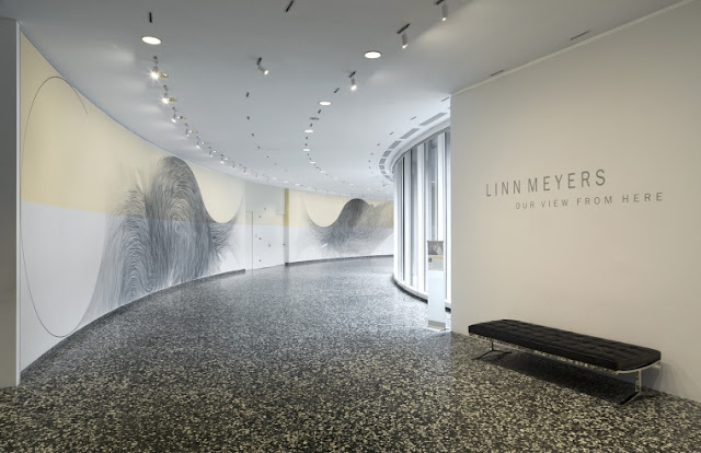 Our View From Here, Linn Meyers, The Hirshhorn Museum and Sculpture Garden, Washington, DC
