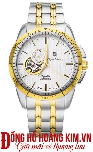 Đồng hồ nam Olym Pianus dây inox đáng mua nhất 2016 tại Hà Nội