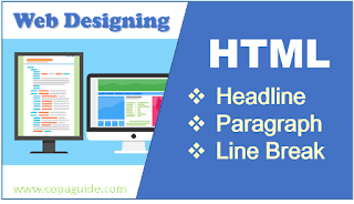 HTML PRACTICALS TEXT, PARAGRAPH AND LINE BREAK TAGS