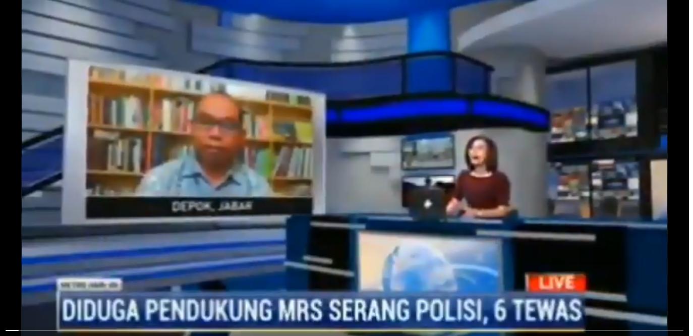 Mau Memojokkan F*I, Eh Metro TV Salah Pilih Narsum?