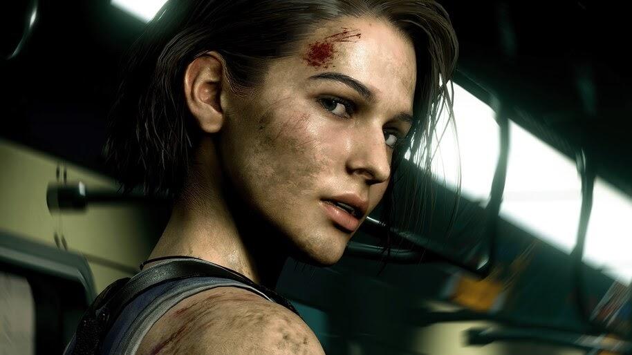 Jill Valentine, Resident Evil 3, 4K, #7.1680