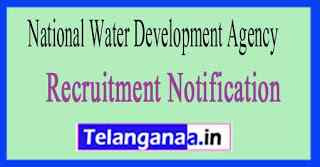 National Water Development Agency NWDA Recruitment Notification