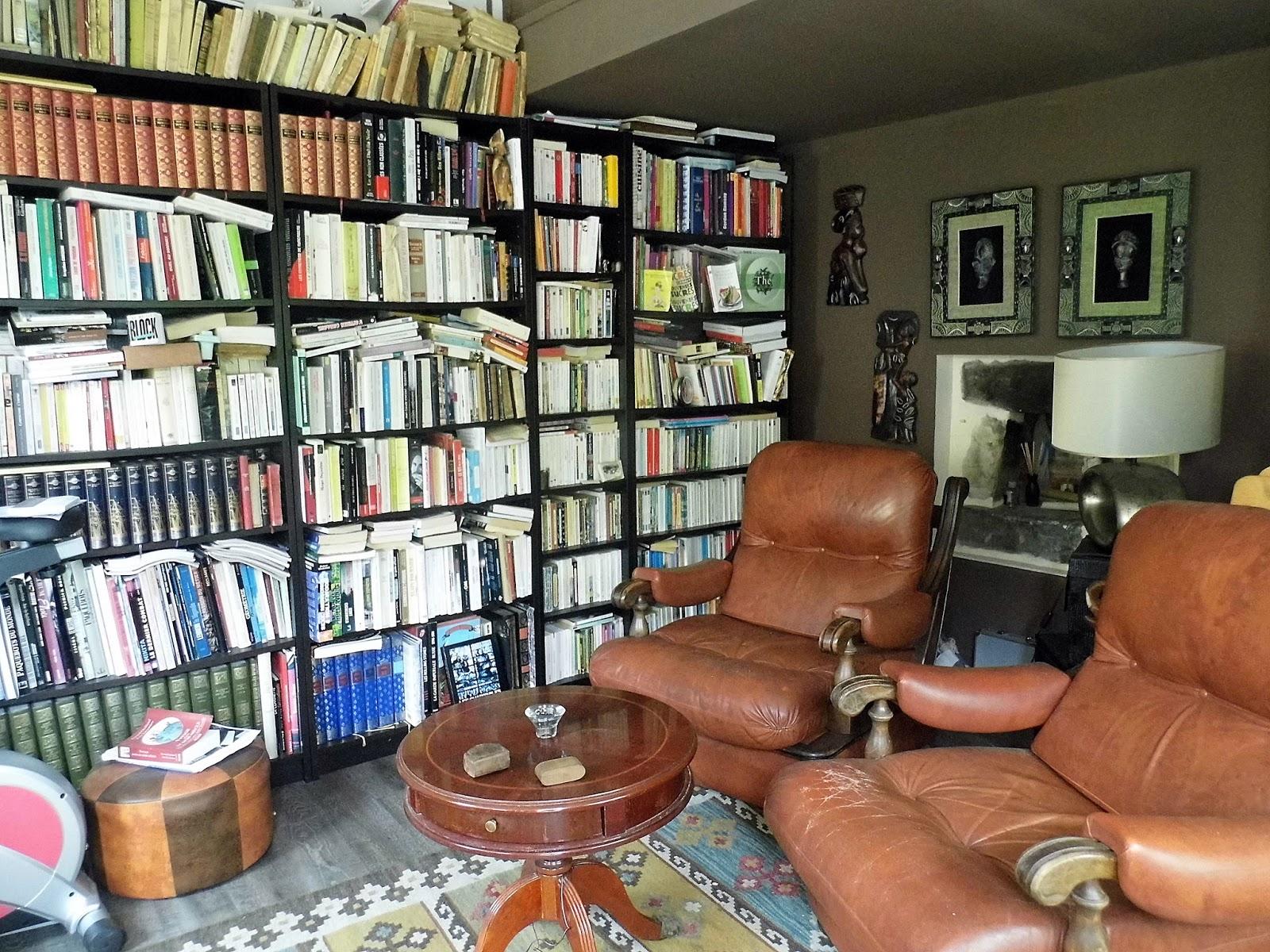 La maison du bonheur: Mes livres, mes étagères, mon bordel
